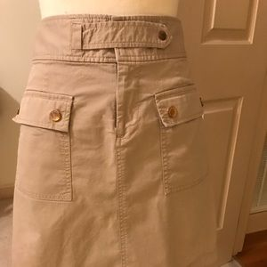 Michael Kors khaki skirt. Size 8